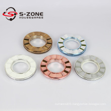 antifriction plastic curtain ring with round strong eyelets for curtain