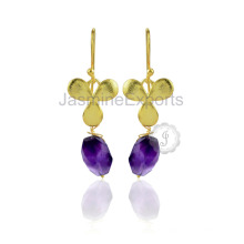Handmade Amethyst Gemstone 925 Sterling Silver Jewelry Wholesale Supplier for Silver Jewelry