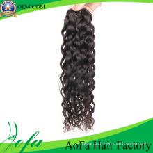 Unverarbeitetes Menschenhaar Remy Virgin Hair Extension