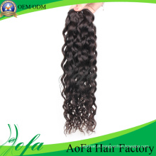 Extensão não processada de alta qualidade do cabelo do Virgin do cabelo humano de Remy