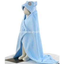 Cobertor de bebê segurando toalhas Cobertores de bebê revestido modelo 3D Puppy