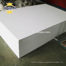 JINBAO panneau pvc rigide white black grey 4x8 3/16''