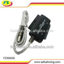 Конвертер USB от 2,0 до 2,5 / 3,5 SATA IDE