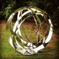 Grande sculpture en métal extérieure VSSSP-037L
