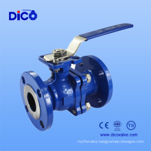 Stoving Varnish Wcb Flange Ball Valve with Ce Certificate