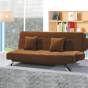 Sleeper Folding Fabric Futon Canapé Loveseat