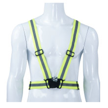 Hi Vis Reflective Safety Elastic Belt Sash
