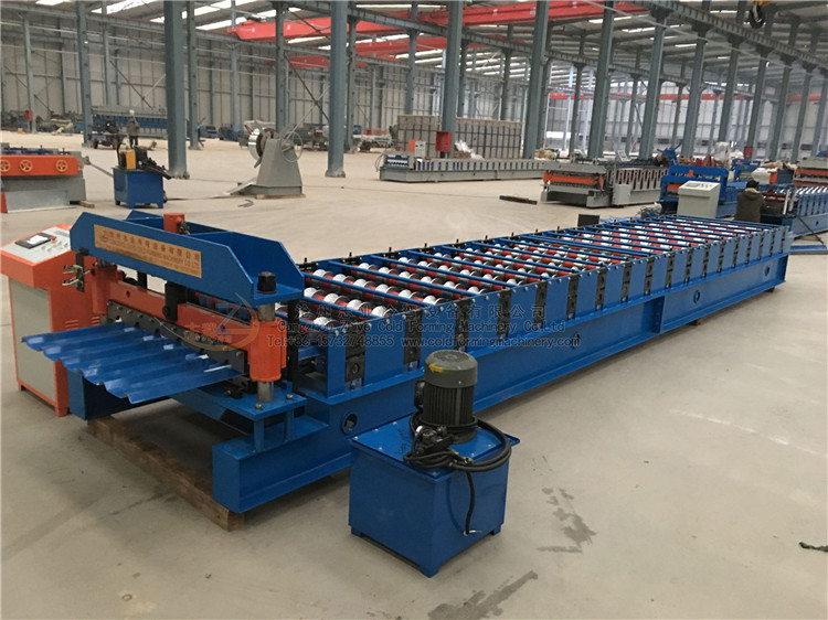 Trapezoidal Roofing Sheet Forming Machinery