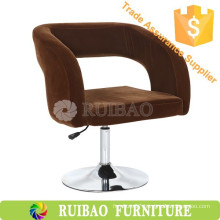 RBS-6121 Swivel Tub Chair with Hollow Back Wholesale Fabric Sofa Chair