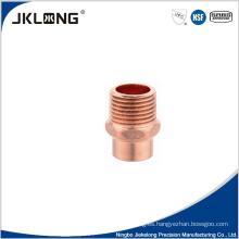 J9023 adaptador de cobre macho 1 pulgada de tubería de cobre de montaje