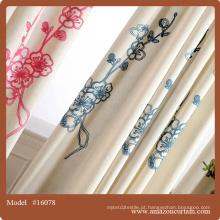 Fancy home cortinas fios tingidos xadrez janela cortinas / cortina e coxim cobrir conjuntos / cortinas têxtil europa moderna