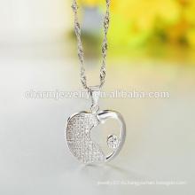 Оптовые 2016 Apple 925 Серебряное Ожерелье Западная Мода Стиль Дизайн для женщин SCR012