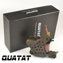 QUATAT Tattooist handmade Tattoo Machine Shader 12 Wrap excelente calidad