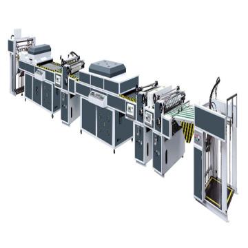 ZXL-1000 / 1200A grand papier mince machine de revêtement de rouleau UV
