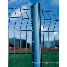 Металлический забор из проволочной сетки заднего двора