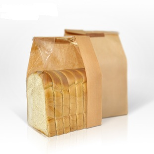 Bread Paper Bag with Side Window