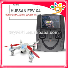 Advance sale!Hubsan H107D X4 FPV UFO 2.4G+5.8GHz video transmission FPV MINI QUADCOPTER UFO 4 Channels VS 4.3 inch LCD