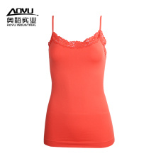 Hot Sexy Mujeres Jóvenes Fitness Tank Top Camisole