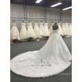 Robe de mariée en dentelle 2018 pour fille de grande taille bretelles chérie robe de mariée