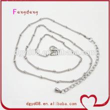 Fabricante de la cadena de joyas de acero inoxidable