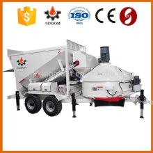 Самый продаваемый стационарный / мобильный Простой и легкий сборный бетонный завод MB1800, производитель