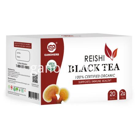 Organic Instant Ganoderma Reishi Black Tea Bag