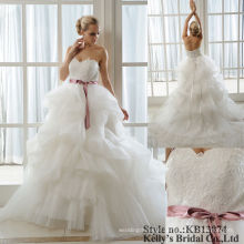 sweet heart neck overlay lace wedding dresses from china