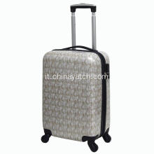 Pc Printing Luggage con film lucido