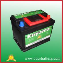 Batería auto de la batería de la calidad DIN55 12V55ah de Corea para comenzar