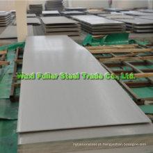 JIS 904L folha de aço inoxidável com superfície agradável
