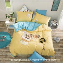 Juego de cama 100% algodón y juego de cama para niños de uso doméstico