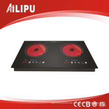 Hot Sell Ceramic Cooker for Kitchen Appliance with Double Burner