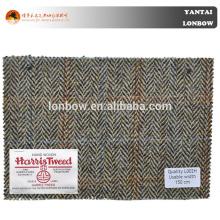 Tela de lana tejida invierno 100% del abrigo de lana en venta al por mayor