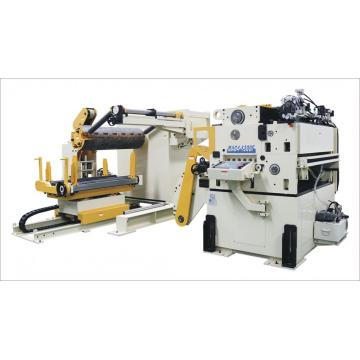 Kompakte Art Decoiler Cum Straightener & Servo Feeder