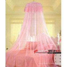 Camas de la cama de las niñas de estilo circular cama de la cama de estilo nuevo decorativas niñas mosquitero