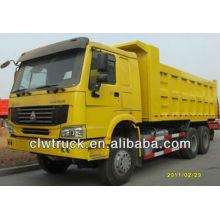 HOWO 336hp camión volquete, 6x4 dump camión volquete
