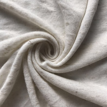 Rayon linen blended knitted fabric
