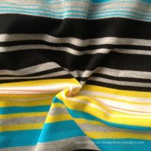 68% Poly 28% Rayon 4% Spandex fios tingidos Tecido Fabric (QF13-0684)