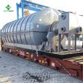 Новейшие технологии !! Резиновые переработки шин пиролиза нефти завод