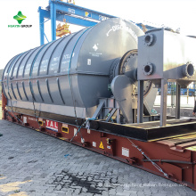 Machine Oil For Waste Tire Recycling Project