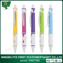 Первый YP154 Бесплатный образец металлический клип Пластиковая шариковая ручка Рекламные