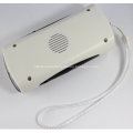Multi-functional Solar Outdoor Portable Radio Flashlight
