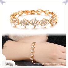 Bracelete de cobre Acessórios de moda Jóias de cristal (AB275)