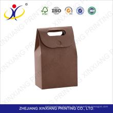 Großhandelsgewohnheitsdrucken-Kraftpapier-Tasche ohne Griff