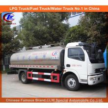 Caminhão-tanque de leite fresco Dongfeng para caminhão de transporte de leite 8m3