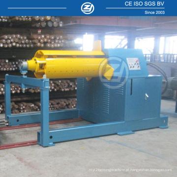 Uncoiler hidráulico da bobina de aço de 10 toneladas