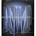 Tablecloth, taffeta pintuck table cover,hotel table linen