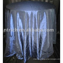 Tablecloth, taffeta pintuck table cover,hotel table linen