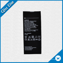 Silk Screen Printing Black Satin Care Label for Garment Accessories