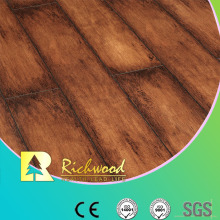 Household 12.3mm E1 AC4 Woodgrain Texture Waterproof Laminated Floor